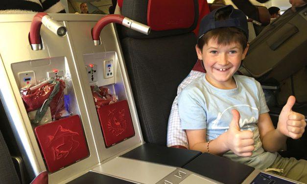 Airline Review – in der Austrian Airlines Business Class von Miami nach Wien