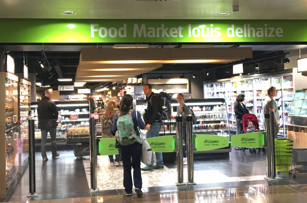Supermarket Brussel Airport